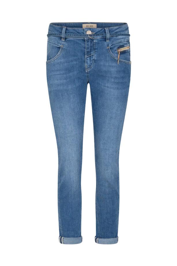 MosMosh 139230 Nelly string jeans Light blue ankel