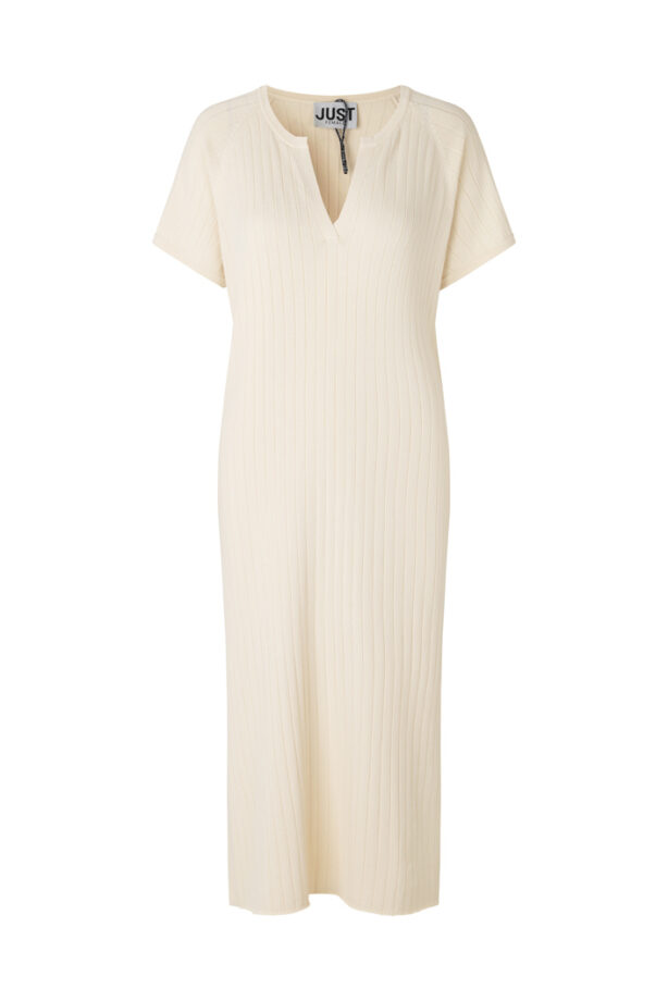 Just Female 13438 Fave dress Off White