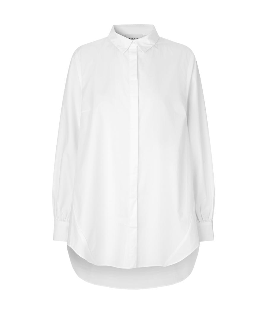 Second female 54878 Amina shirt White